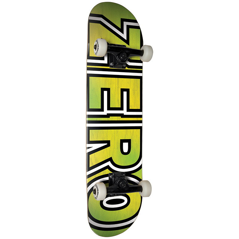 Zero Team Bold Premium Complete Skateboard 7.875