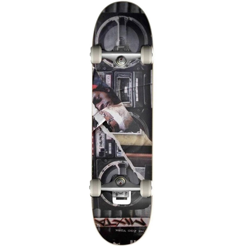 Zoo York Boom Box Complete Skateboard Multi 7.75