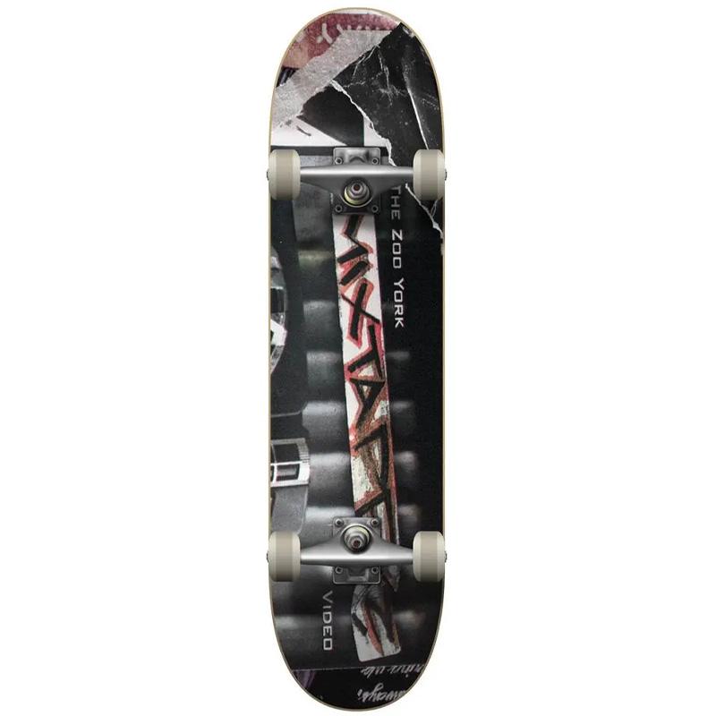 Zoo York Mix Tape Complete Skateboard Multi 8.0