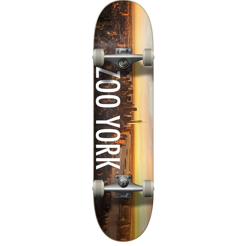 Zoo York Sunrise Complete Skateboard Multi 7.5