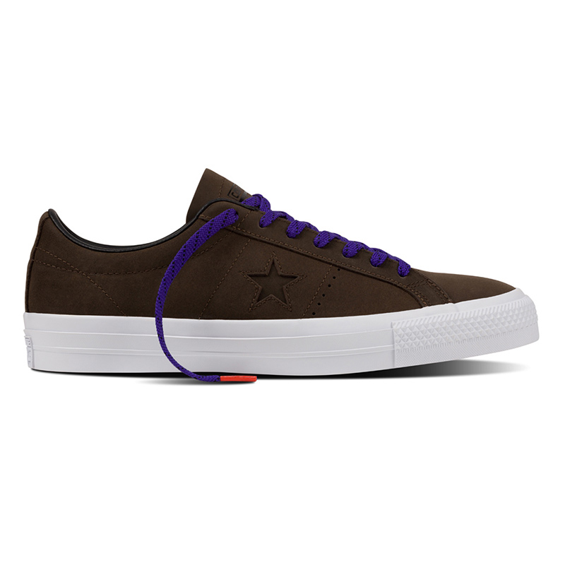 Converse One Star Pro Leather Ox Hot Cocoa/Black