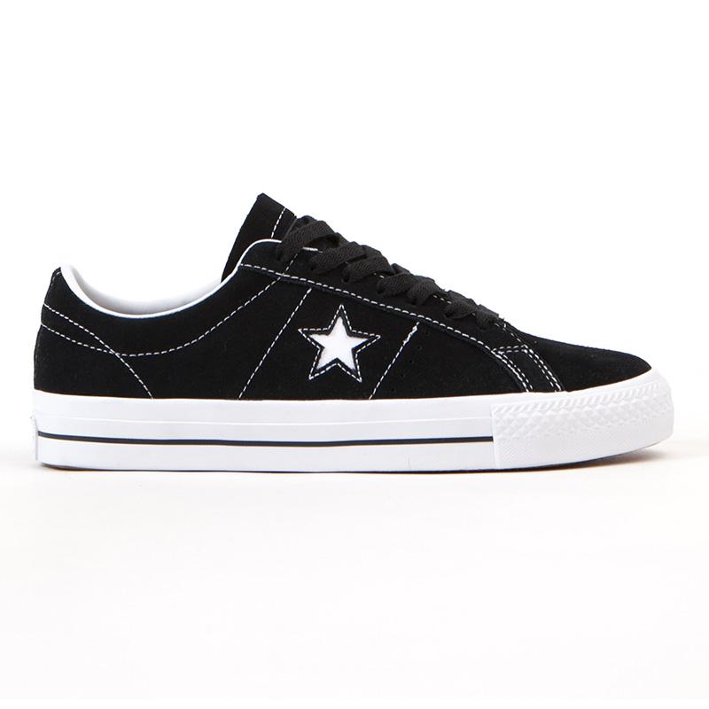 Converse One Star Pro Ox Black/White/White