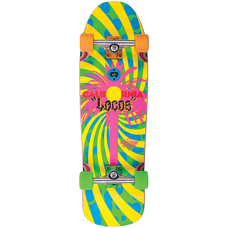 Dusters California Locos Complete Cruiser Green/Yellow 31.0