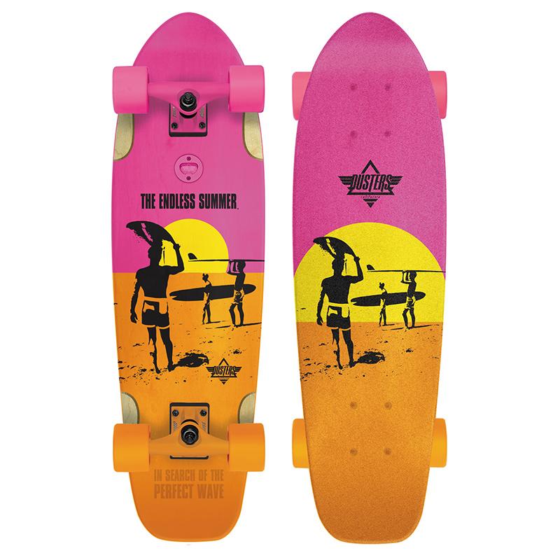 Dusters Endless Summer Bird Complete Cruiser Yellow/Orange/Pink 25.0