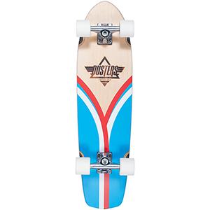 Dusters Flashback Cruiser Skateboard Blue/Red 31.0