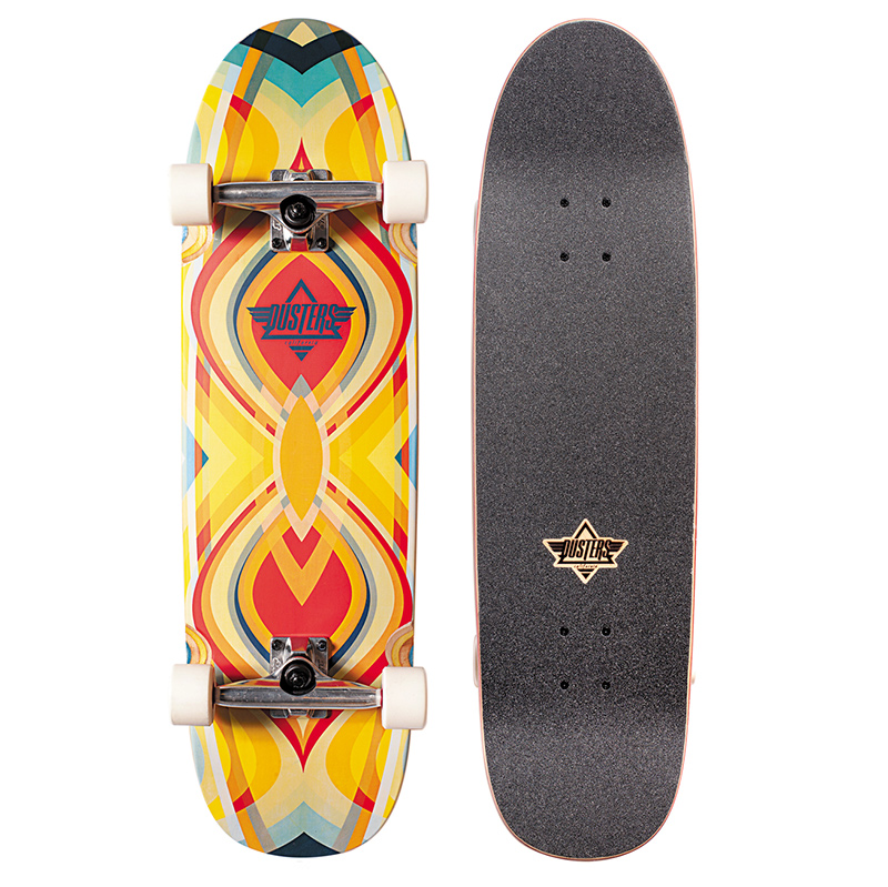 Dusters Grind Complete Cruiser Kryptonic White/Red 31.89