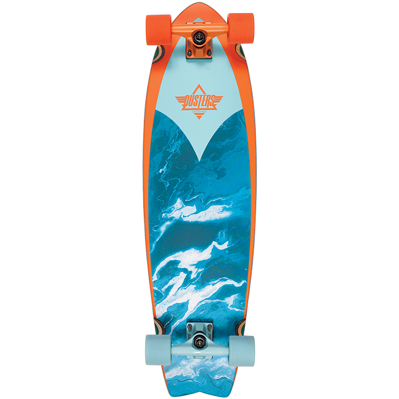 Dusters Kosher Complete Cruiser Orange/Blue