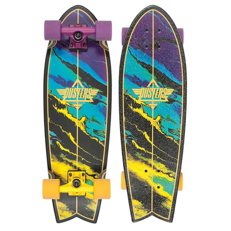 Dusters Kosher Complete Cruiser Yellow/Purple 28.0
