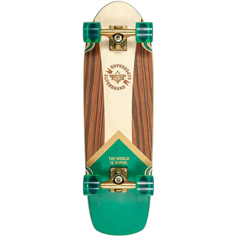 Dusters Superbrand Retro Cruiser Green/Gold 29.0