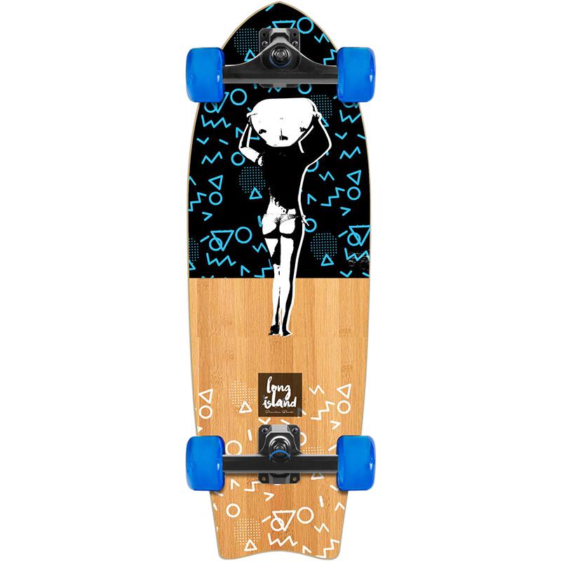 Long Island Surfing Streetsurf Cruiser Skateboard 28.0