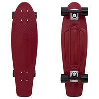 Penny Nickel Burgundy Cruiser Skateboard 27.0
