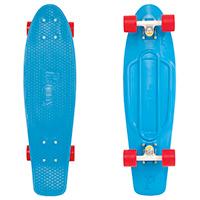 Penny Nickel Blue Cruiser Skateboard 27.0