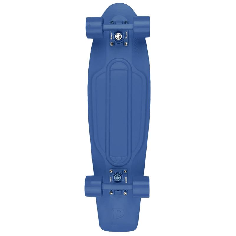 Penny Nickel Blue Staple Complete Cruiser 27.0