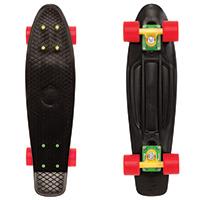 Penny Nickel Rasta Cruiser Skateboard 27.0