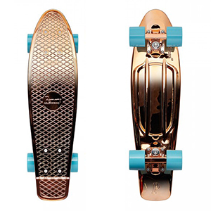 Penny Rose Gold Complete Cruiser 22.0