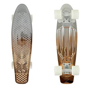 Penny White Copper Cruiser Skateboard 22.0