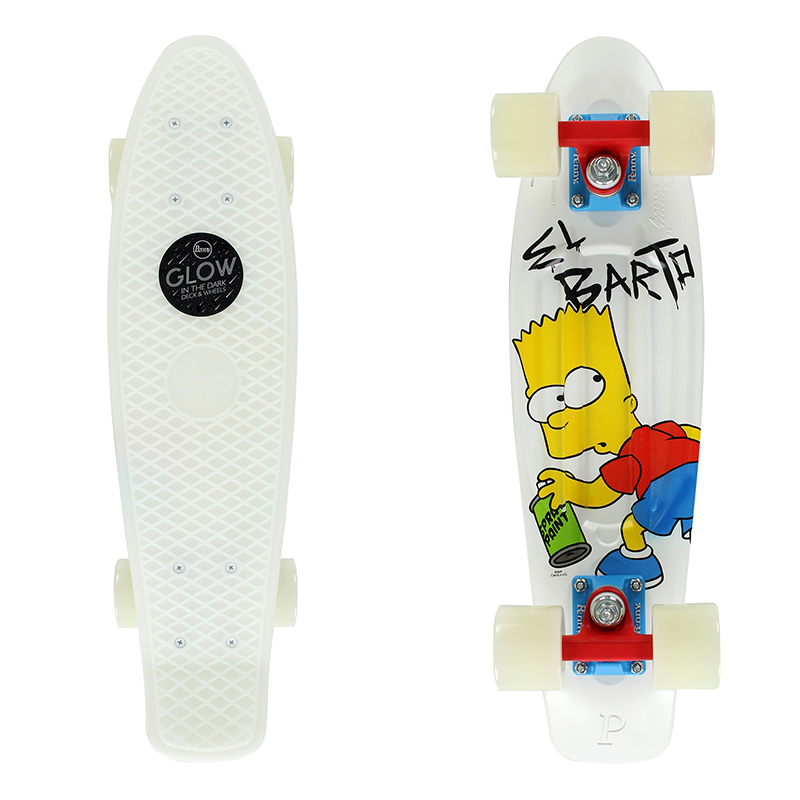Penny x The Simpsons El Barto Cruiser Skateboard 22.0