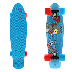 Penny x The Simpsons Itchy & Scratchy Cruiser Skateboard 22.0