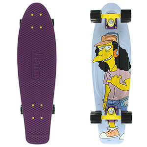 Penny x The Simpsons Rock on Little Dudes! Nickel Cruiser Skateboard 27.0
