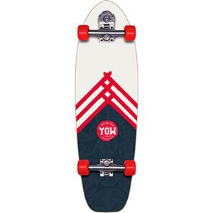 Yow Hossegor Lane Surfskate V3 Cruiser Skateboard 34.0