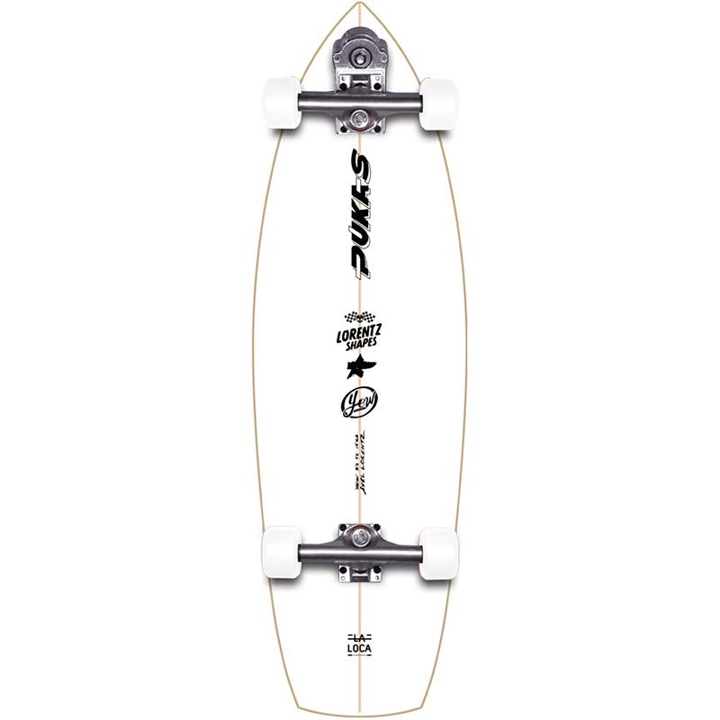 Yow La Loca Pukas x Yow Surfskate V3 Cruiser Skateboard 31.5