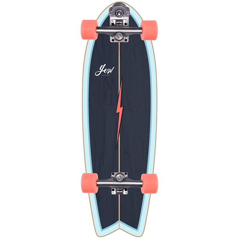 Yow Pipe Power Surfing Series Surfskate V3 Cruiser Skateboard 32.0