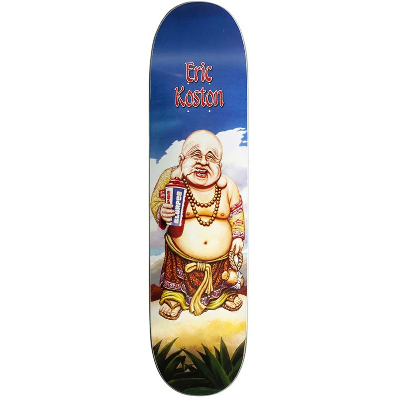 101 Koston Buddha Slick Skateboard Deck 7.625