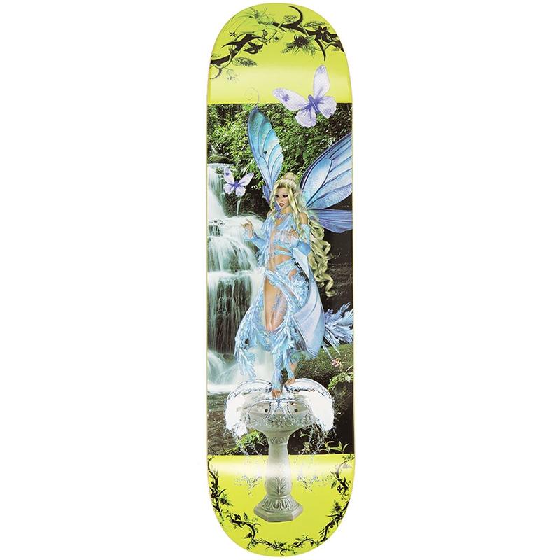 Alltimers Bored Boards Flor Skateboard Deck Fairy 8.25