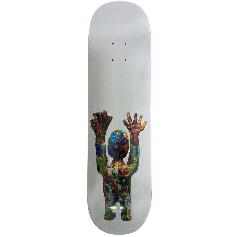 Alltimers Cedric Johnson Skateboard Deck Multi 8.3
