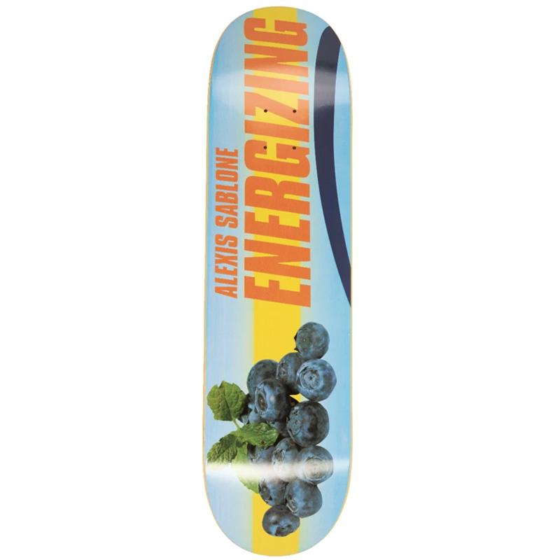 Alltimers Energizing Alexis Sablone Skateboard Deck Blueberry 7.5