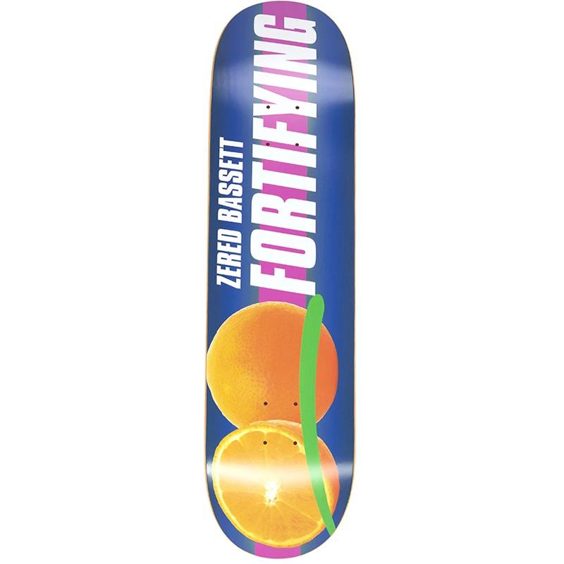 Alltimers Fortifying Zered Skateboard Orange 8.25