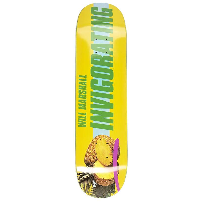 Alltimers Invigorating Will Skateboard Deck Pineapple 8.1