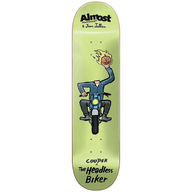 Almost Cooper Jean Jullien Monsters Skateboard Deck 8.375