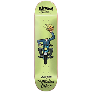 Almost Cooper Jean Jullien Monsters Skateboard Deck 8.375