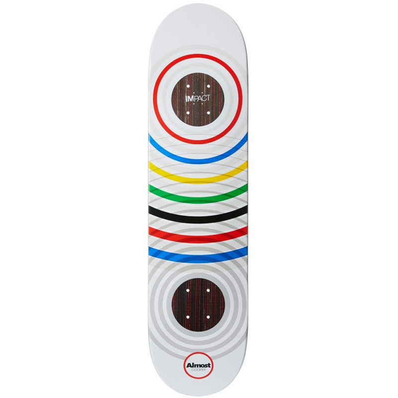 Almost Cooper Ring Games Impact Light Skateboard Deck 8.0
