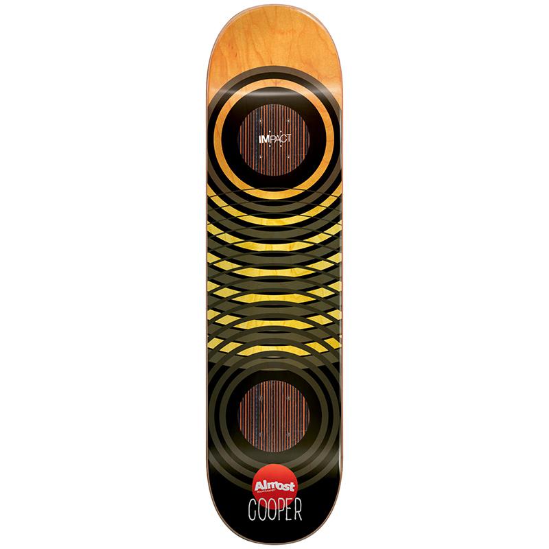 Almost Cooper Wilt OG Trans Rings Impact Skateboard Deck 8.25