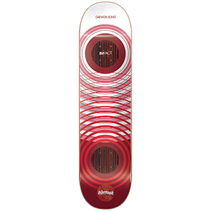 Almost Daewon Clean Rings Impact Skateboard Deck 8.25