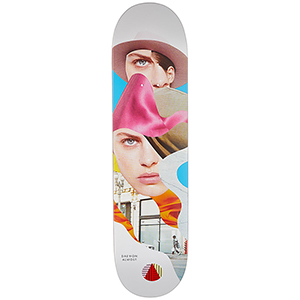 Almost Daewon Girl Collage R7 Skateboard Deck 8.125