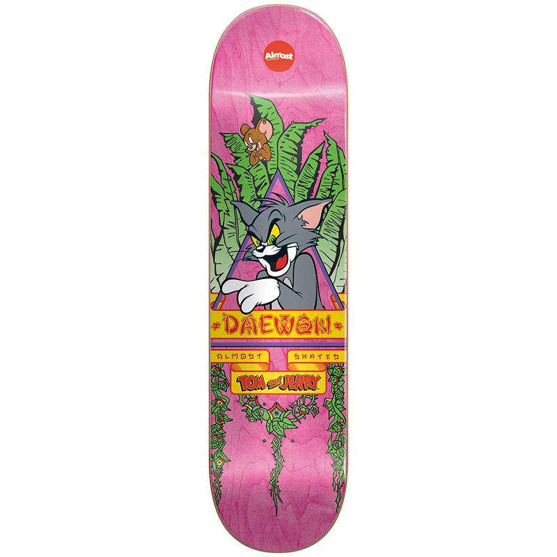 Almost Daewon Tom Big Panther R7 Daewon Skateboard Deck 8.25