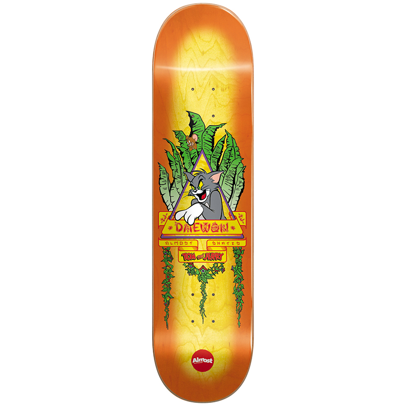 Almost Daewon Tom Panther R7 Skateboard Deck 8.25