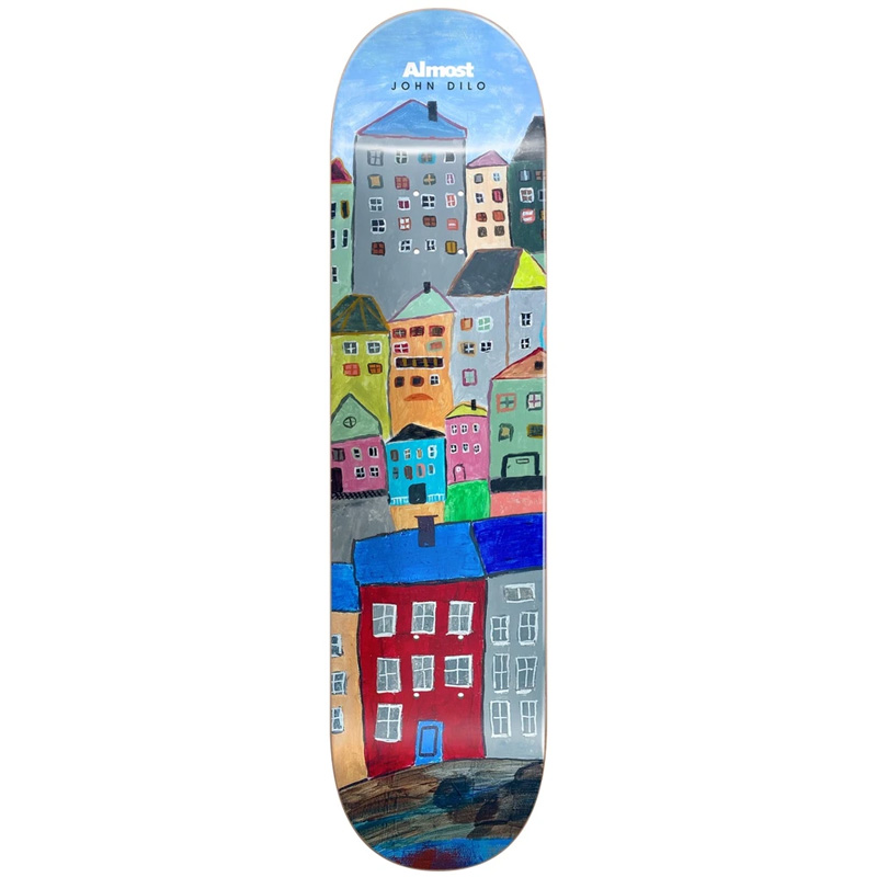 Almost Dilo Places R7 Skateboard Deck (Left) 8.125