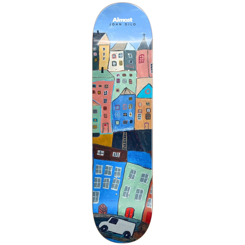 Almost Dilo Places R7 Skateboard Deck (Right) 8.375