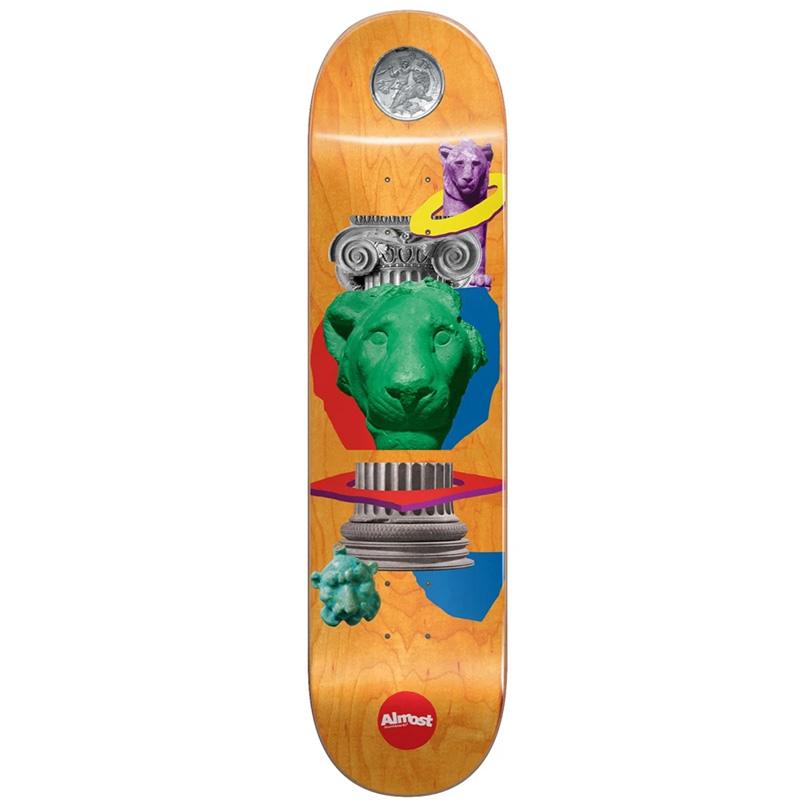 Almost Dilo Relics R7 Skateboard Deck 8.125