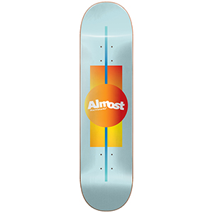 Almost Gradient HYB Ice Skateboard Deck 8.0