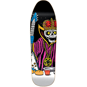 Almost Heritage Last Supper Rock King Skateboard Deck 9.875