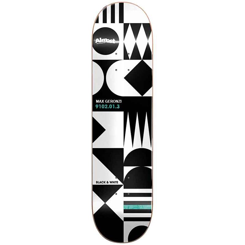 Almost Max Geometrix R7 Skateboard Deck 8.0