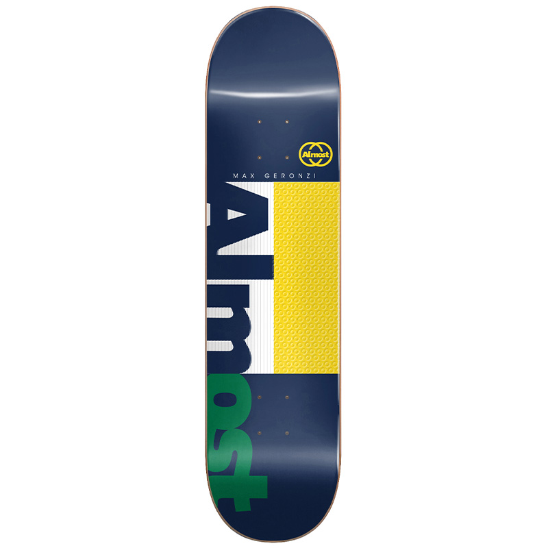 Almost Max Ivy League Impact Light Skateboard Deck 8.25