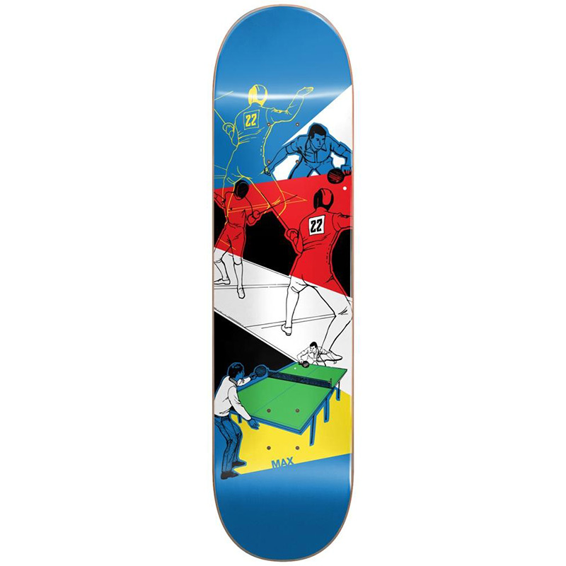 Almost Max Not A Sport R7 Skateboard Deck 8.125