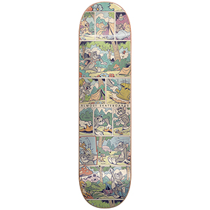 Almost Mullen Comic Strip R7 Skateboard Deck 8.0
