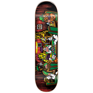 Almost Mullen Dog Poker R7 Skateboard Deck 8.0